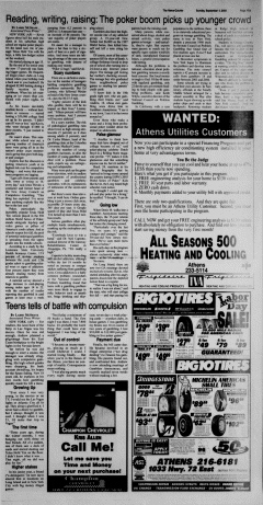 Athens News Courier, September 04, 2005, Page 34