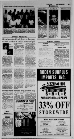 Athens News Courier, September 04, 2005, Page 50