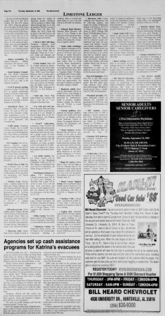 Athens News Courier, September 15, 2005, Page 23