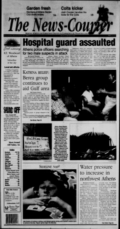 Athens News Courier, September 15, 2005, Page 2