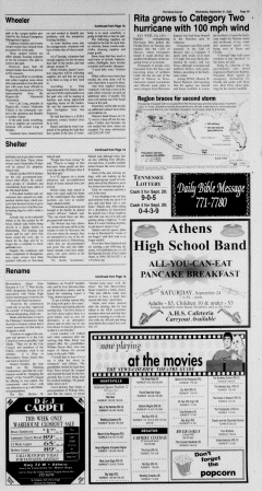 Athens News Courier, September 21, 2005, Page 5