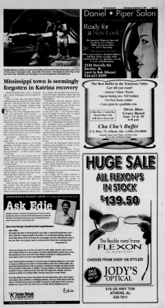 Athens News Courier, September 21, 2005, Page 21