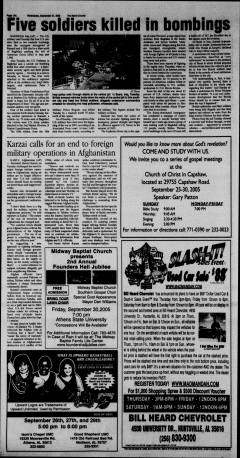 Athens News Courier, September 21, 2005, Page 28