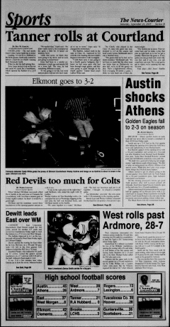 Athens News Courier, September 24, 2005, Page 18