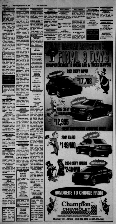 Athens News Courier, September 28, 2005, Page 40