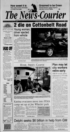 Athens News Courier, September 29, 2005, Page 1