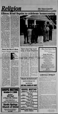 Athens News Courier, September 30, 2005, Page 18