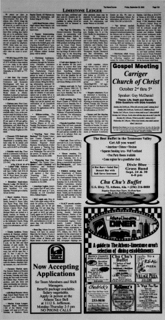Athens News Courier, September 30, 2005, Page 26