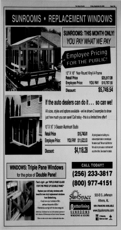 Athens News Courier, September 30, 2005, Page 38