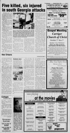 Athens News Courier, October 01, 2005, p. 5