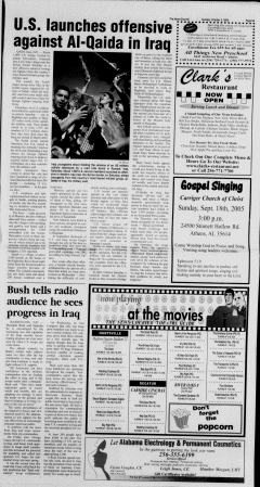 Athens News Courier, October 02, 2005, p. 17