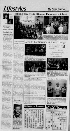 Athens News Courier, October 11, 2005, p. 11