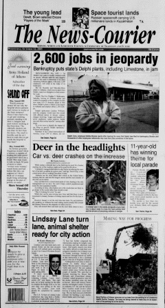Athens News Courier, October 12, 2005, Page 1