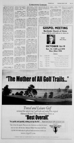 Athens News Courier, October 12, 2005, Page 21