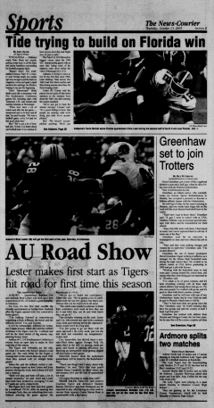 Athens News Courier, October 13, 2005, Page 26