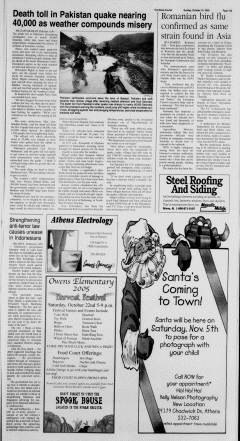 Athens News Courier, October 16, 2005, Page 29