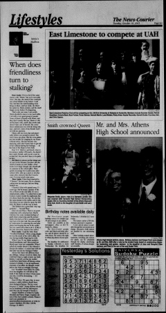 Athens News Courier, October 18, 2005, Page 12