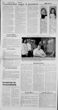 Athens News Courier, October 23, 2005, Page 59