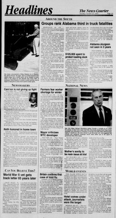 Athens News Courier, October 25, 2005, p. 7