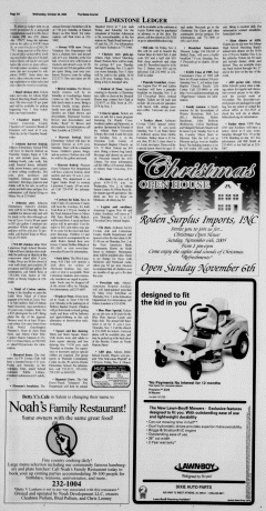 Athens News Courier, October 26, 2005, p. 11
