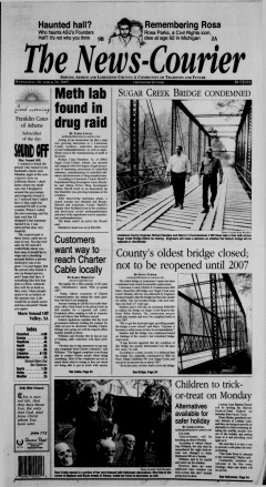 Athens News Courier, October 26, 2005, p. 2