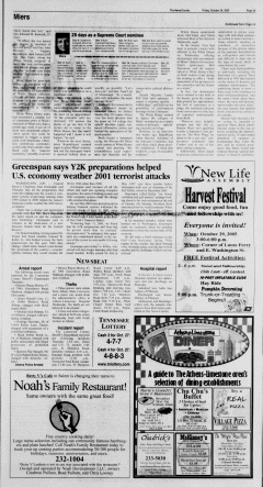 Athens News Courier, October 28, 2005, p. 5
