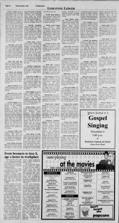 Athens News Courier, November 04, 2005, Page 23