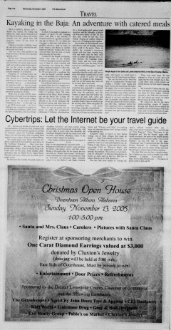 Athens News Courier, November 09, 2005, Page 23