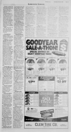 Athens News Courier, November 09, 2005, Page 25