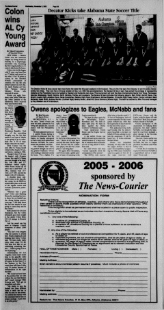 Athens News Courier, November 09, 2005, Page 34
