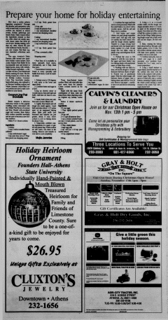 Athens News Courier, November 09, 2005, Page 54