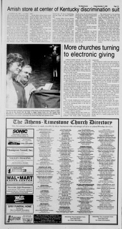 Athens News Courier, November 11, 2005, Page 21
