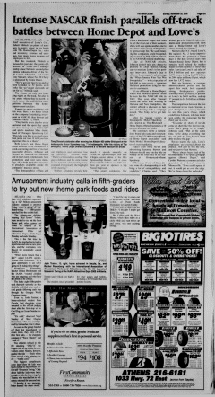 Athens News Courier, November 20, 2005, Page 30