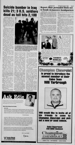 Athens News Courier, November 23, 2005, Page 13