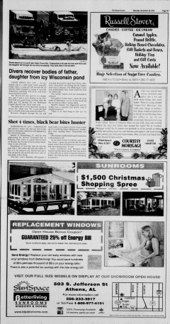 Athens News Courier, November 26, 2005, Page 29