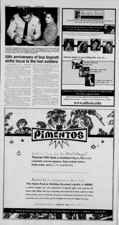 Athens News Courier, November 26, 2005, Page 31