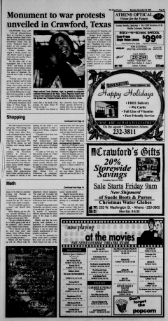 Athens News Courier, November 26, 2005, Page 6