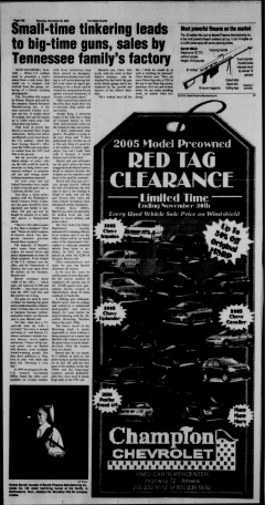 Athens News Courier, November 26, 2005, Page 36