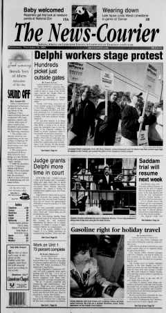 Athens News Courier, November 30, 2005, Page 1