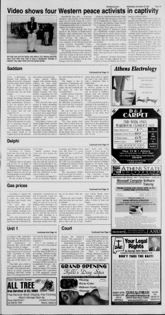 Athens News Courier, November 30, 2005, Page 5