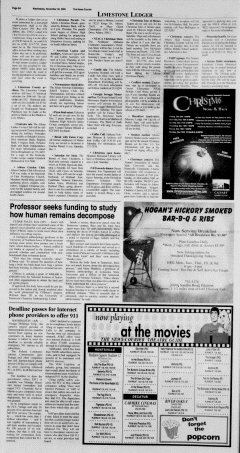 Athens News Courier, November 30, 2005, Page 11