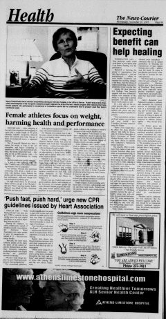 Athens News Courier, November 30, 2005, Page 15