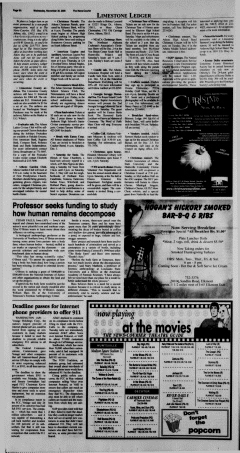 Athens News Courier, November 30, 2005, Page 12