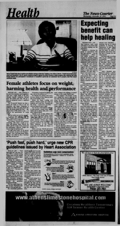 Athens News Courier, November 30, 2005, Page 16
