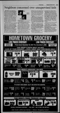 Athens News Courier, November 30, 2005, Page 54