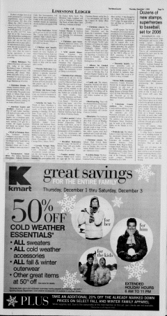Athens News Courier, December 01, 2005, Page 13