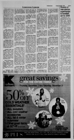Athens News Courier, December 01, 2005, Page 14