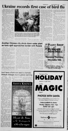 Athens News Courier, December 04, 2005, Page 21