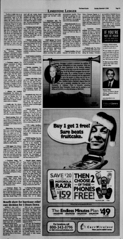 Athens News Courier, December 04, 2005, Page 14