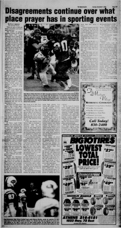 Athens News Courier, December 04, 2005, Page 30